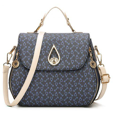 Hot PU Leather Arrow Print Handbag