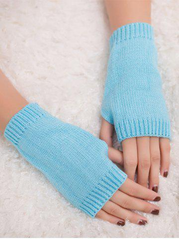 Unique Outdoor Knit Fingerless Gloves