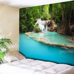 Wall Hanging Landscape Pattern Tapestry - COLORMIX W59 INCH * L51 INCH