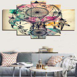 Dream Catcher Print Unframed Canvas Split Paintings -