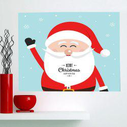 Happy Santa Claus Patterned Multifunction Wall Art Painting -
