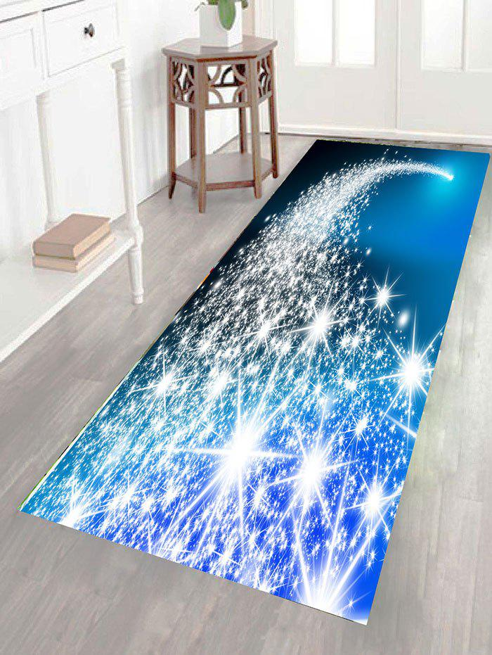 Blue Starlight Pattern Wall Art Sticker