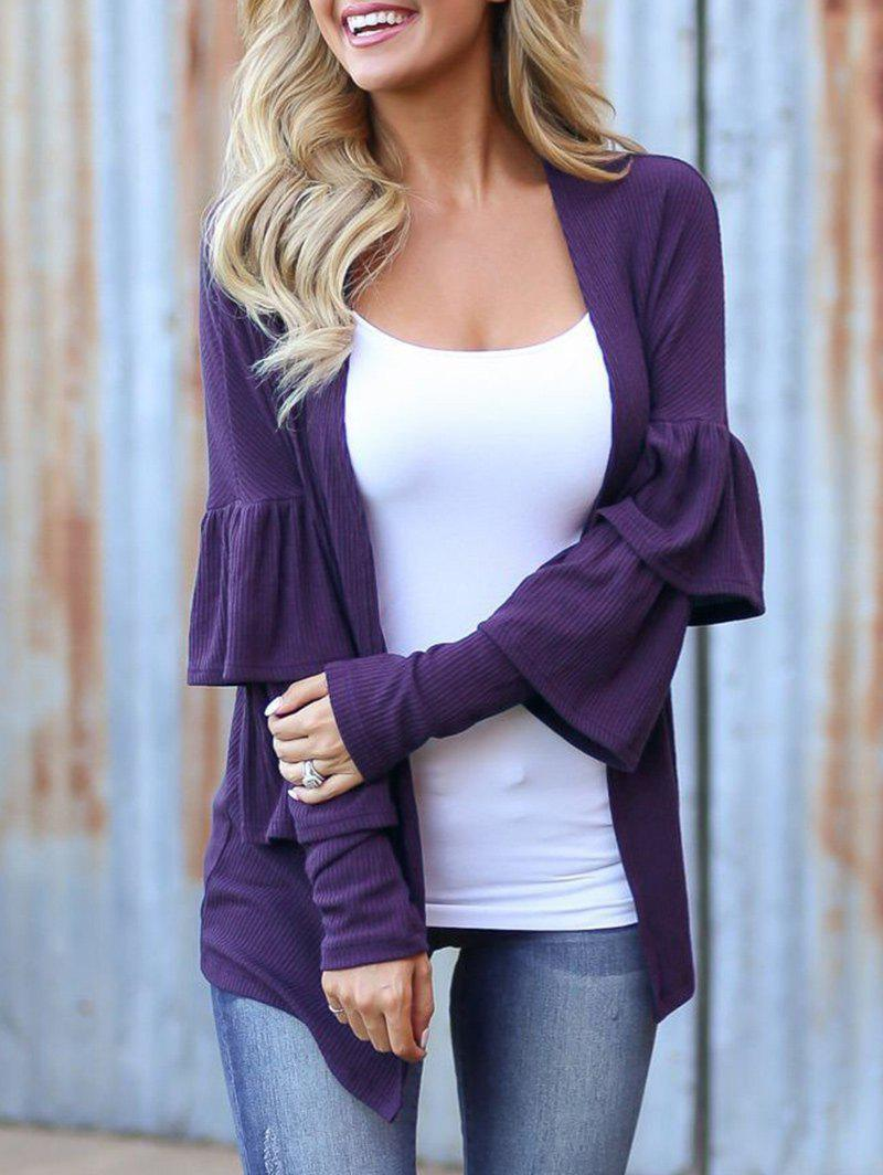 Outfits Ruffle Layer Long Sleeve Shirt