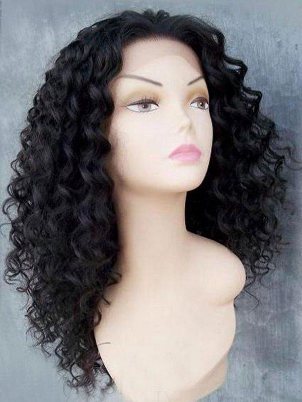 Shops Long Free Part Fluffy Afro Kinky Curly Lace Front Synthetic Wig