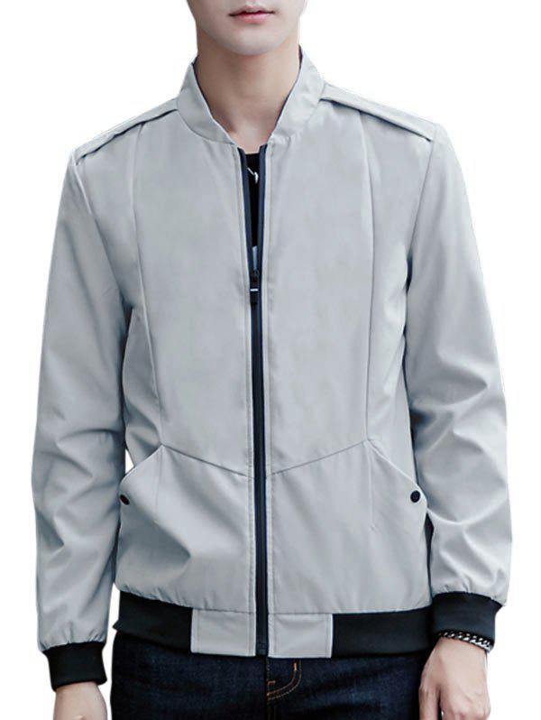 Affordable Casual Zip Up Pilot Jacket