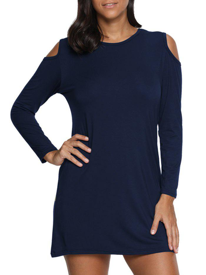 Best Cold Shoulder Mini Tunic Dress
