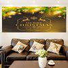 Multifunction Golden Baubles Pattern Wall Sticker -