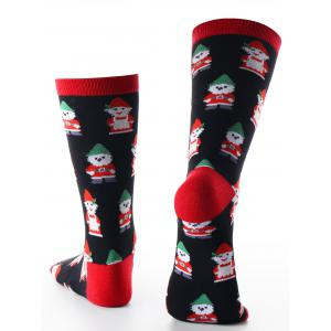 Santa Claus Warm Christmas Socks -
