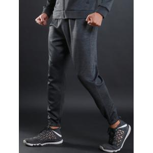 Drawstring Sports Jogger Pants - GRAY M