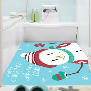 Happy Christmas Snowman Printed Multifunction Wall Art Painting -