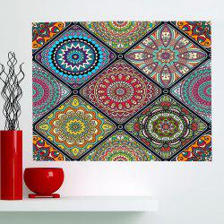 Multifunction Bohemian Geometries Flowers Pattern Wall Art Painting -