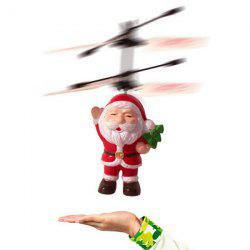 Santa Claus Suspension Induction Aircraft Toy -