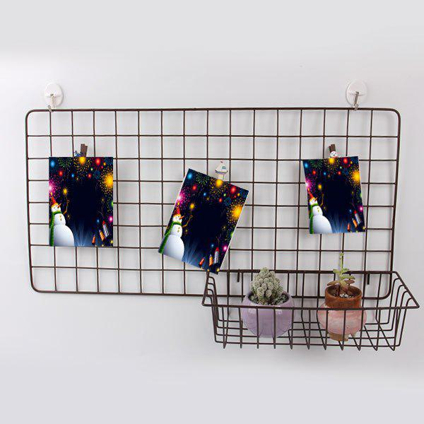 Discount Household Portable Metal Wire Hanging Storage Basket