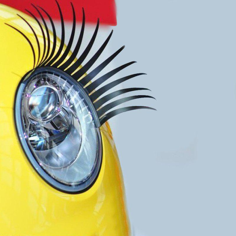 Online Pair of Funny Car Headlight Eyelashes