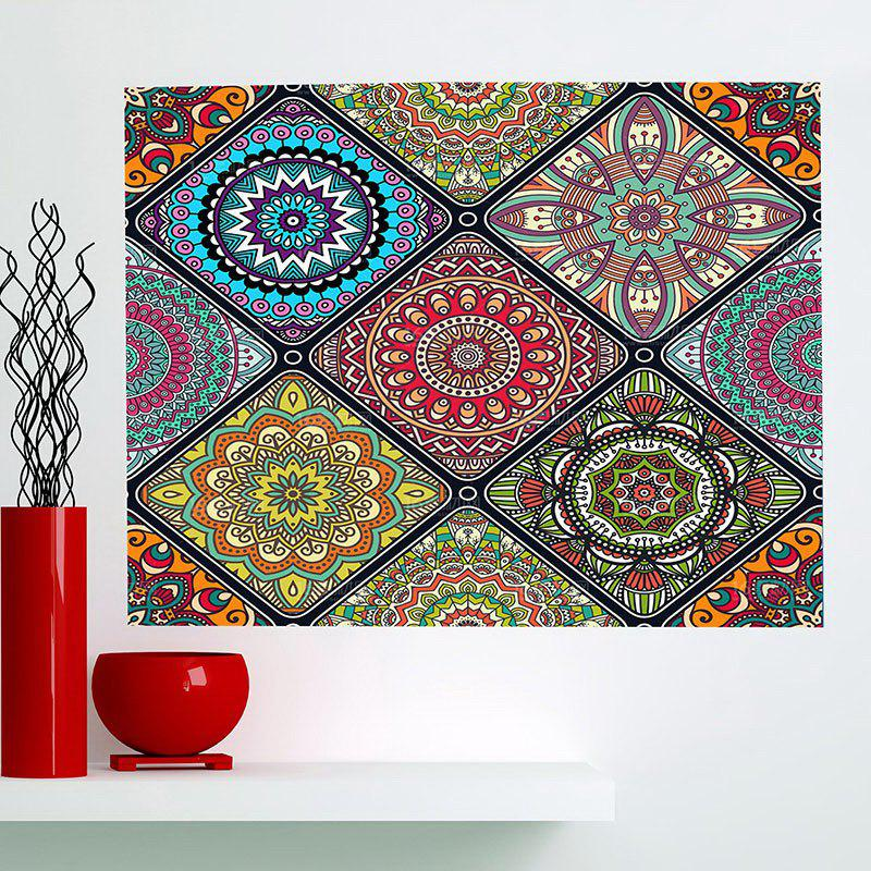 Fancy Multifunction Bohemian Geometries Flowers Pattern Wall Art Painting