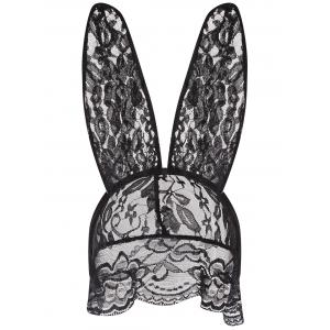 Lace Sheer Bunny Costume Set -