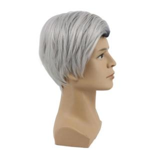 Short Colormix Side Parting Straight Descendants 2 Carlos Cosplay Wig -