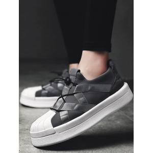 Plate-forme Shell Toe chaussures de skate -