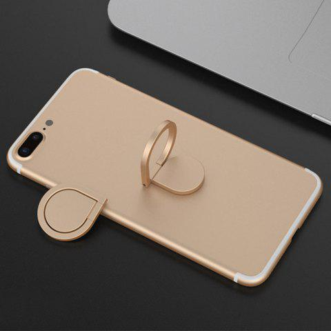 Trendy Magnetic Rotatable Water Drop Shape Phone Ring Holder