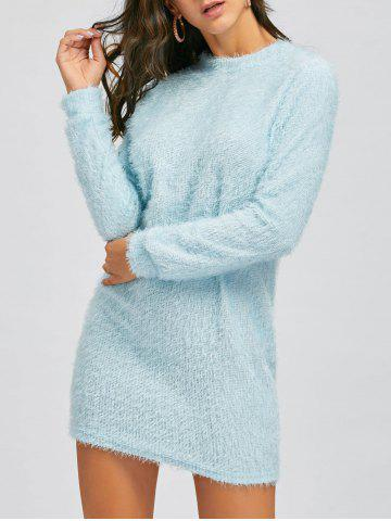 Mini Robe Sweat Pelucheux
