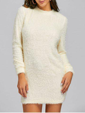 Shops Mini Fuzzy Sweater Dress