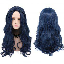 Long Curly Braided Synthetic Descendants Evie Cosplay Wig -