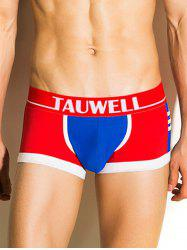 Color Block Stripe Panel Boxer Brief -
