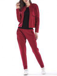 Casual Sport Jacket and Pants -