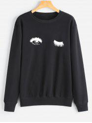 Eye Print Sweatshirt -
