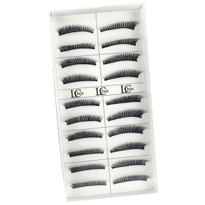 10 Pairs Natural Soft Long Extension Fake Eyelashes -