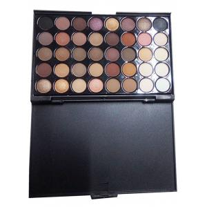 40 Colors Eyeshadow Palette with Makeup Brushes Set -