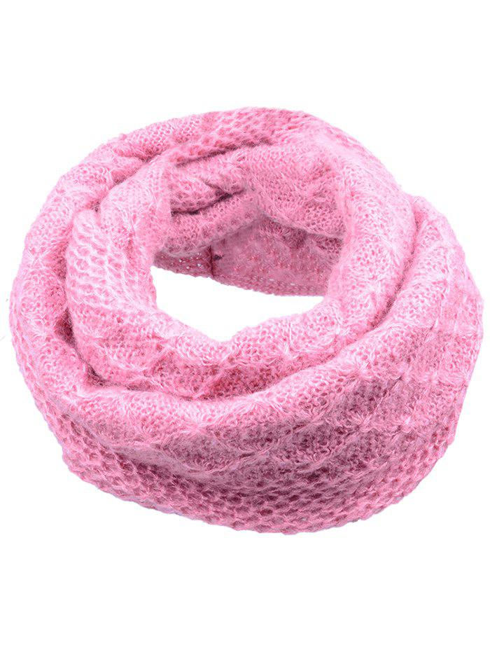 Vintage Rhombus Pattern Crochet Knitted ScarfACCESSORIES<br><br>Color: LIGHT PINK; Scarf Type: Scarf; Scarf Length: Below 60CM; Group: Adult; Gender: For Women; Style: Fashion; Material: Acrylic; Season: Fall,Spring,Winter; Scarf Width (CM): 20CM; Length (CM): 67CM; Weight: 0.1250kg; Package Contents: 1 x Scarf;