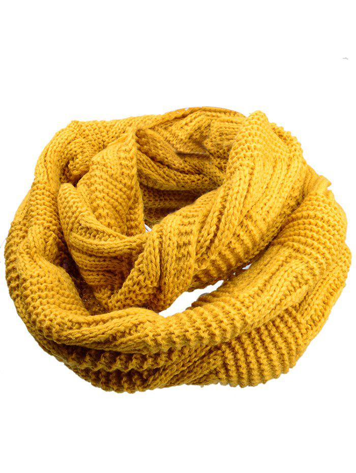 Vintage Thicken Ribbed Chunky Knit ScarfACCESSORIES<br><br>Color: EARTHY; Scarf Type: Scarf; Scarf Length: 60-80CM; Group: Adult; Gender: For Women; Style: Fashion; Material: Acrylic; Season: Fall,Winter; Scarf Width (CM): 30CM; Length (CM): 60CM; Weight: 0.1550kg; Package Contents: 1 x Scarf;