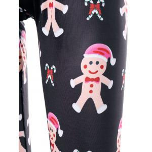 Christmas Ginger Man Print Leggings -