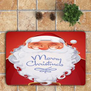 Smiling Santa Claus Pattern 3Pcs Bath Toilet Rug Set -