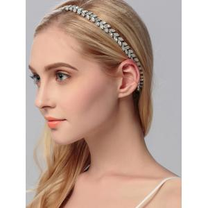 Rhinestoned Sparkly Wedding Elastic Hair Band -