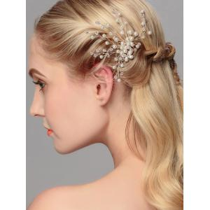 Faux Pearl Wedding Tree of Life Hairpin -