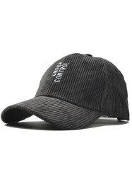 Outdoor Vertical Letter Pattern Embroidery Baseball Hat -