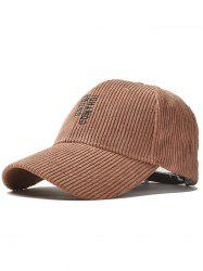 Outdoor Vertical Letter Pattern Embroidery Baseball Dad's Hat -