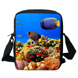 Sac à bandoulière 3D World Sea Crossbody -