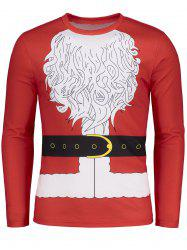Funny Santa Clause Novelty Christmas T-shirt -