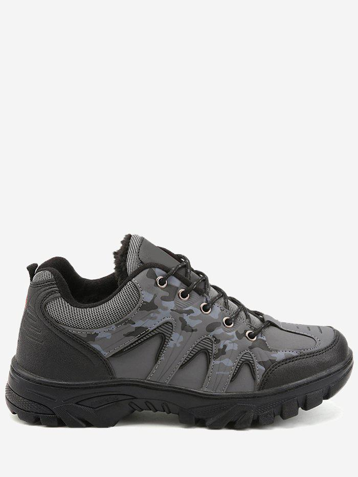 Online Camo Print Outdoor Waterproof Hiking Athletic Shoes