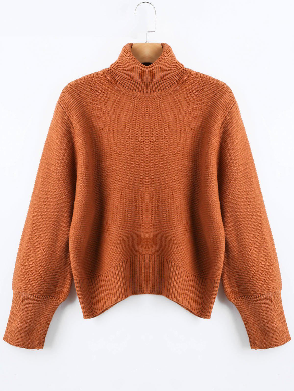 Outfit Oversized Knit Turtleneck Sweater