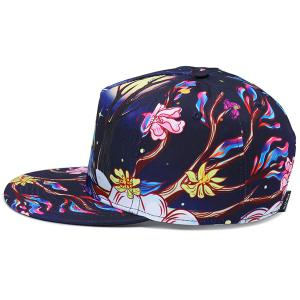3D Cool Printing Hiphop Snapback Hat -