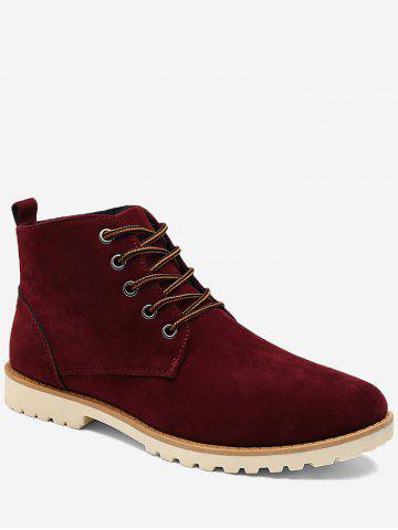 New Suede Low Heel Casual Shoes