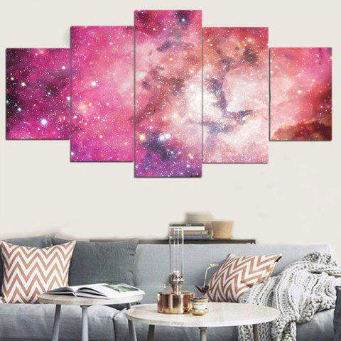 Trendy Unframed Galaxy Pattern Canvas Paintings