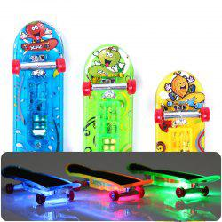 3 Pcs LED Light Mini Finger Skateboards -