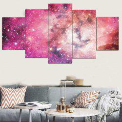 Unframed Galaxy Pattern Canvas Paintings -
