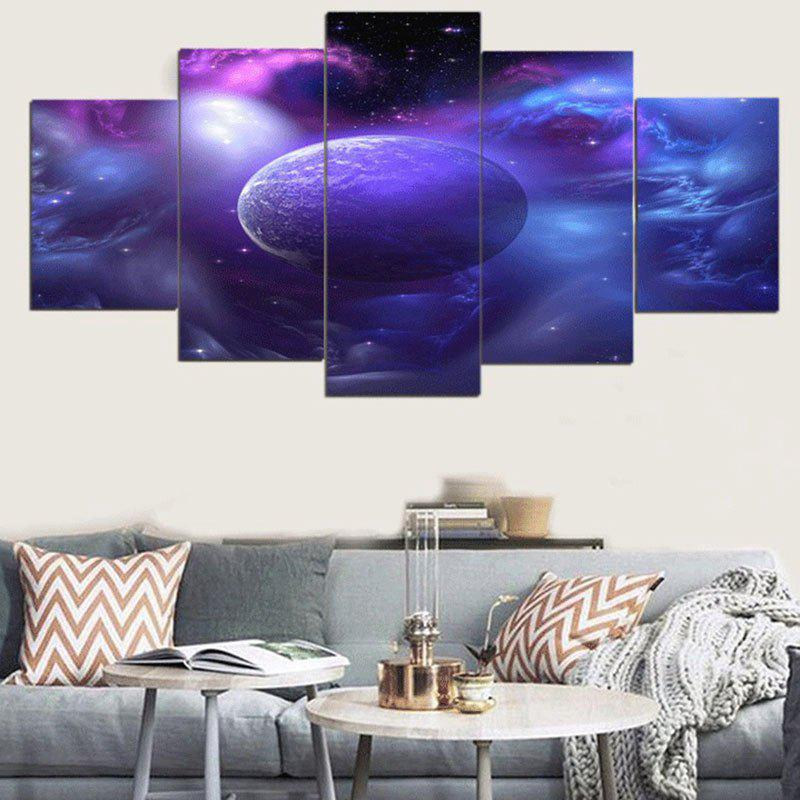 Buy Unframed Star Universe Pattern Canvas Paintings