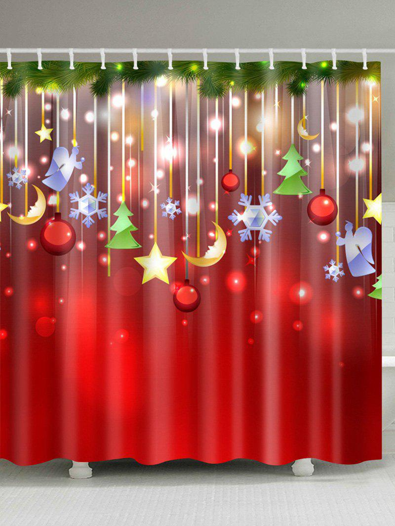 Outfits Christmas Waterproof Mouldproof Shower Curtain